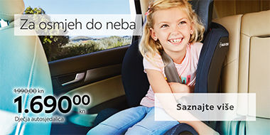 Sigurna i kvalitetna dječja autosjedalica Lesnina XXXL
