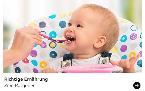 Babyratgeber Richtige Ernährung