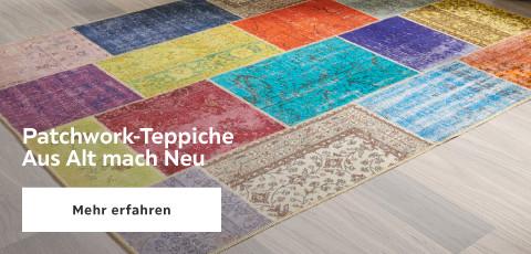 Patchwork Teppiche: aus alt mach neu