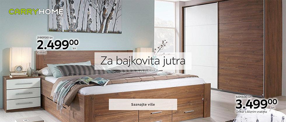 Udoban i moderan krevet za spavanje Lesnina XXXL