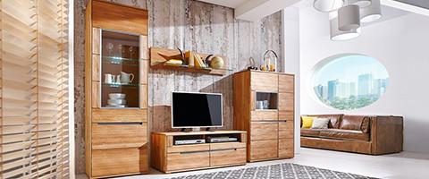 massivholzmoebel wohnzimmer