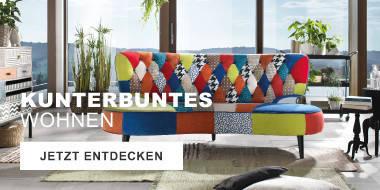 Kunterbuntes Wohnen - Shop the look