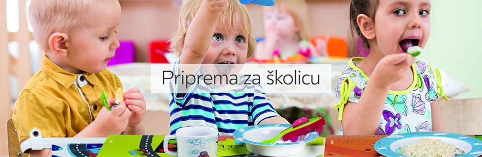 Dječji set pribora za jelo Lesnina XXXL
