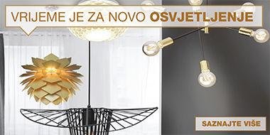 Zanimljiva i moderna rasvjeta Lesnina XXXL