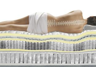 Ideální matrace s pružinovým jádrem pro vaši postel boxspring od XXXLutz.