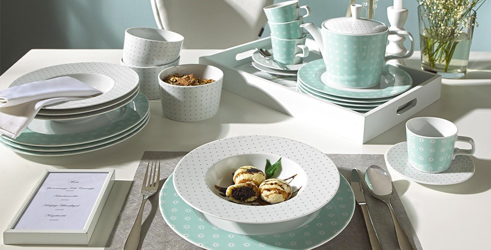 Wunderschöne und hochwertige Geschirrsets für Ihr Esszimmer von namhaften Markenherstellern finden Sie bei XXXLutz