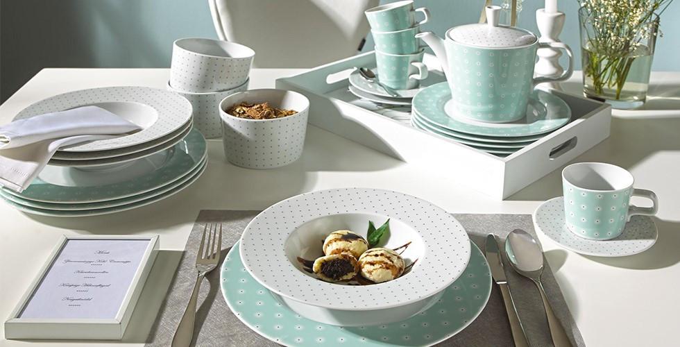Překrásné a kvalitní sady nádobí na váš jídelní stůl od známých značkových výrobců najdete v XXXLutz.