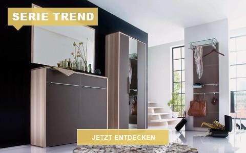 Garderobe Trend braun