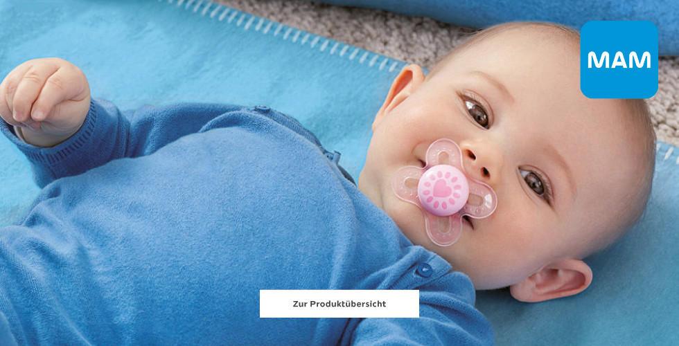 mam wir lieben Babys Babyartikel Blau Baby