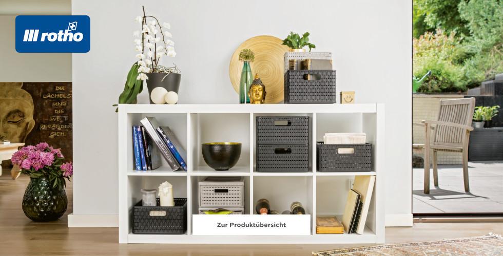 Rotho Aufbewahrungsboxen für Büro und Co.