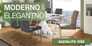 Elegantan stool i stolice za blagovaonicu Lesnina XXXL