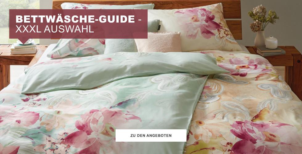 Bettwäsche-Guide - XXXL Auswahl