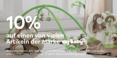 10% auf einen von vielen Artikeln der  Marke mybabylou