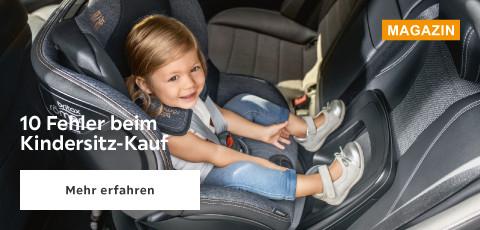 10 Fehler beim Kindersitz kaufen