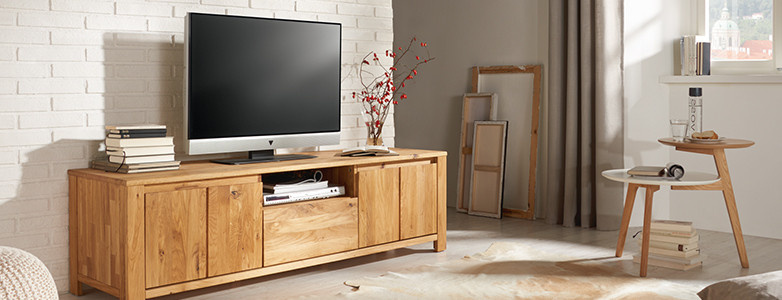 TV-Element Holz