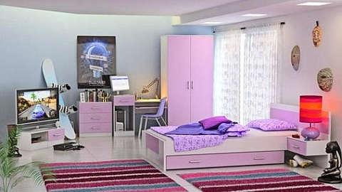 Ružičasta sobe za mlade