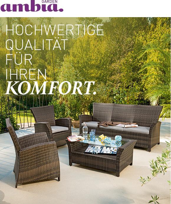 ambia garden borneo loungemoebel braun