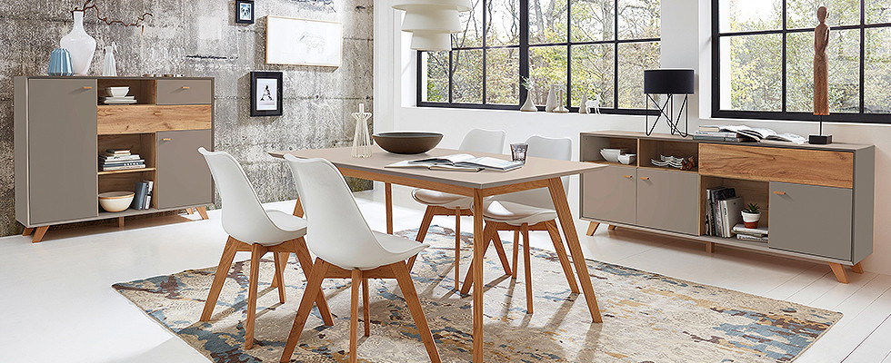 Esstisch Stühle Kommode Calvi macht Lust auf mehr