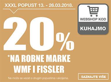 20% popusta na Wmf i Fissler u Lesnini