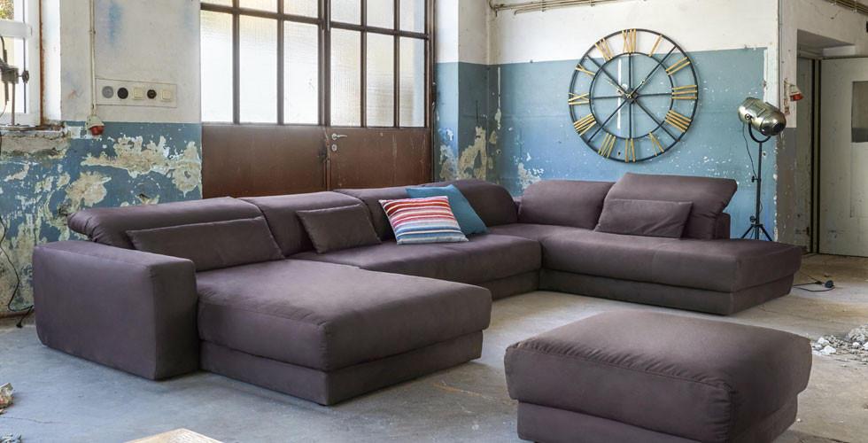 Elegantní, moderní sedací souprava Pure Home.