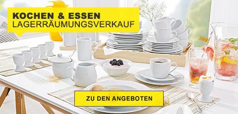 Lagerräumungsverkauf Kochen&Essen