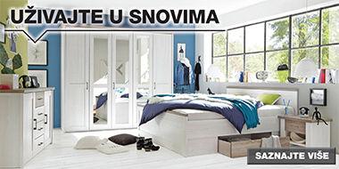 Moderna spavaća soba Lesnina XXXL