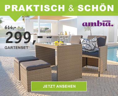 Gartenmöbel Set Holz Klappbar ~ Gartenmöbel bequem online kaufen