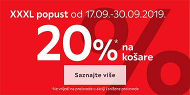 20% popusta na košare u Lesnini