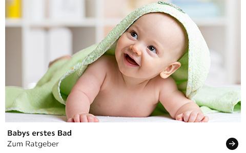 Babyratgeber erstes Bad