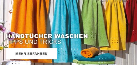 Handtücher waschen - Tipps und Tricks