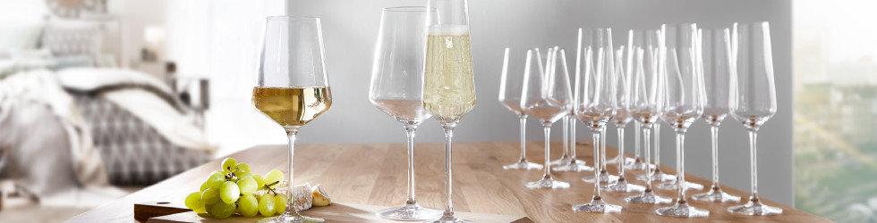 Gläser Weingläser Sektgläser