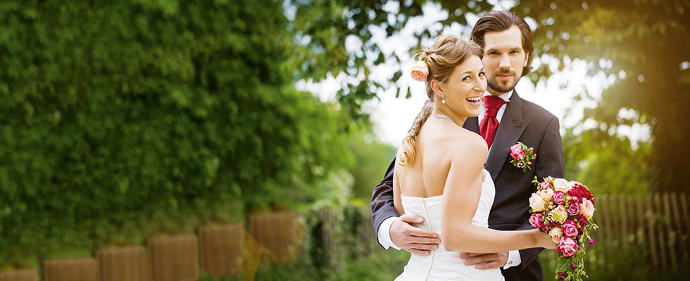 Hochzeitspaar Hochzeitstisch