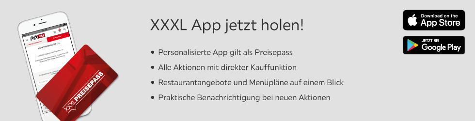 XXXL App jetzt holen!