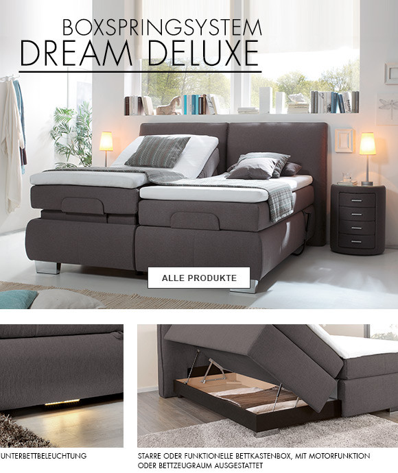 dieter knoll collection dream deluxe boxspringbett