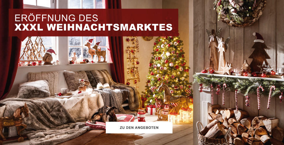 Eröffnung des  XXXL Weihnachtsmarktes