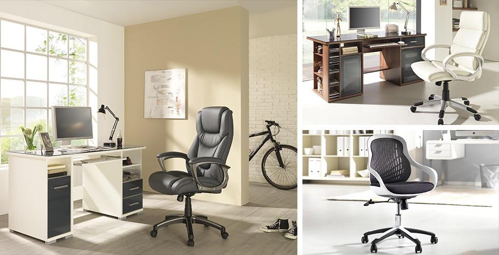 Drehstühle, Chefsessel, gesundes Sitzen mit orthopädischem Stuhl – alles bei XXXLutz.