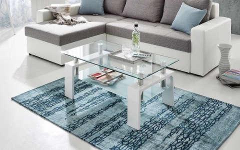 bijeli stolić za dnevni boravak