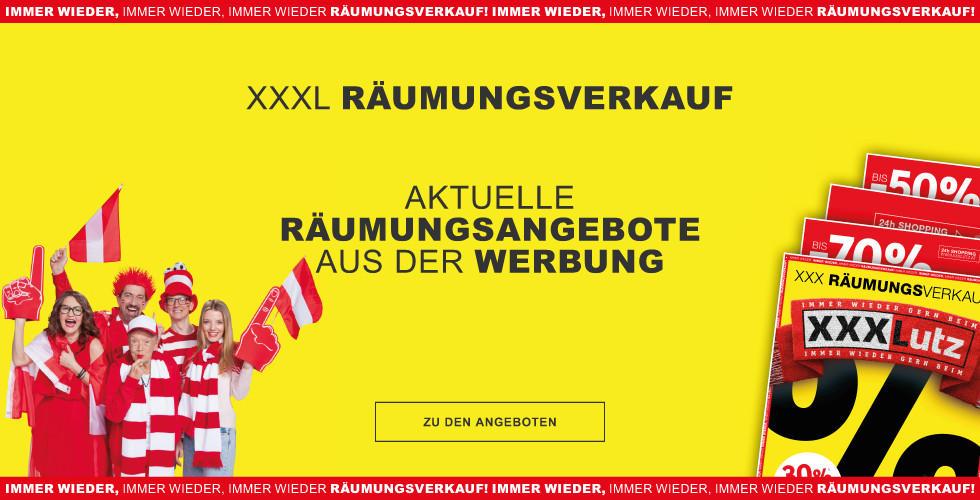 xxxl Raeumungsverkauf