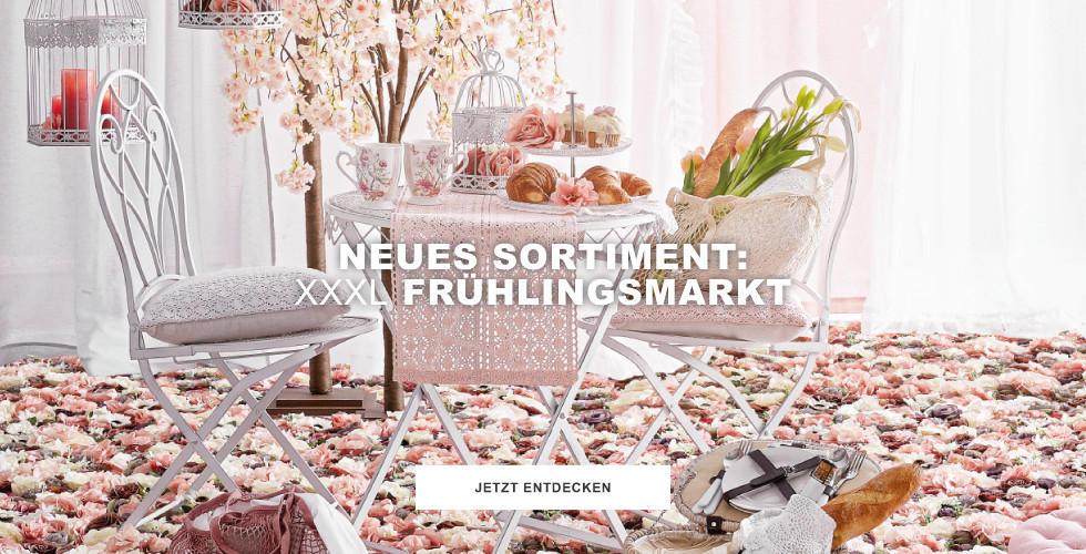 NEUES Sortiment: XXXL Frühlingsmarkt