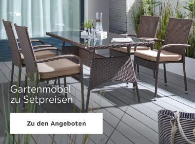 Gartenmöbel zu Setpreisen