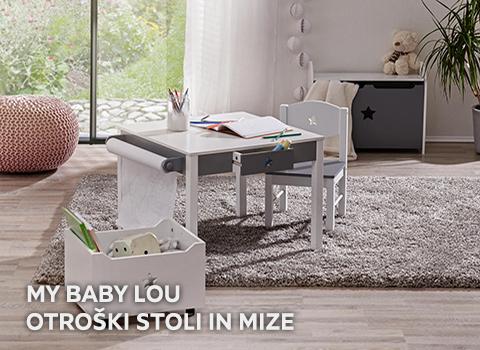 My Baby Lou Otroški stoli in mize