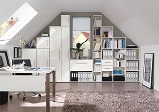 Kanceláře všech velikostí a stylů, pro každý vkus v XXXLutz.