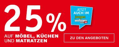25% Hausrabatt