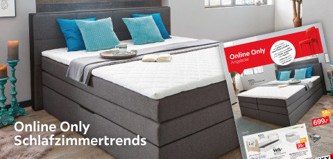 Online Only Schlafzimmertrends