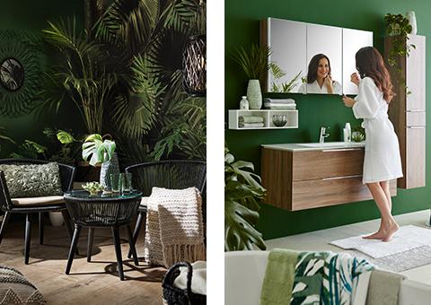 Green Living Bad und Garten