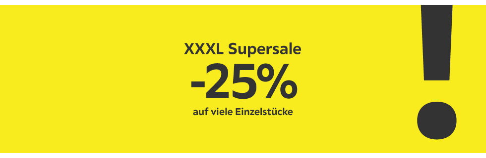 XXXL Supersale-2019