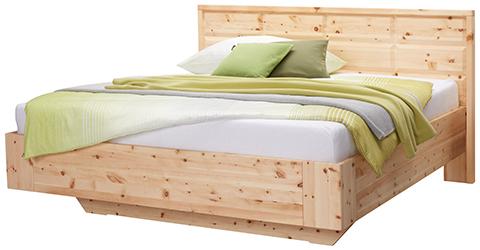 Zirbenbett-Holzmuster