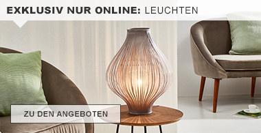 exklusiv nur online: Leuchten