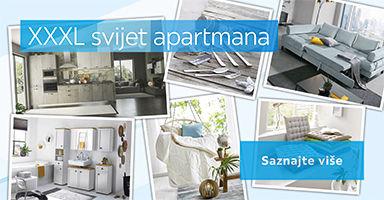 opremanje apartmana