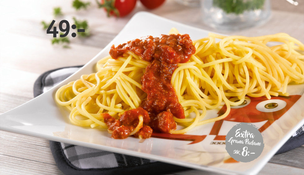 KIDS spaghetti bolognese